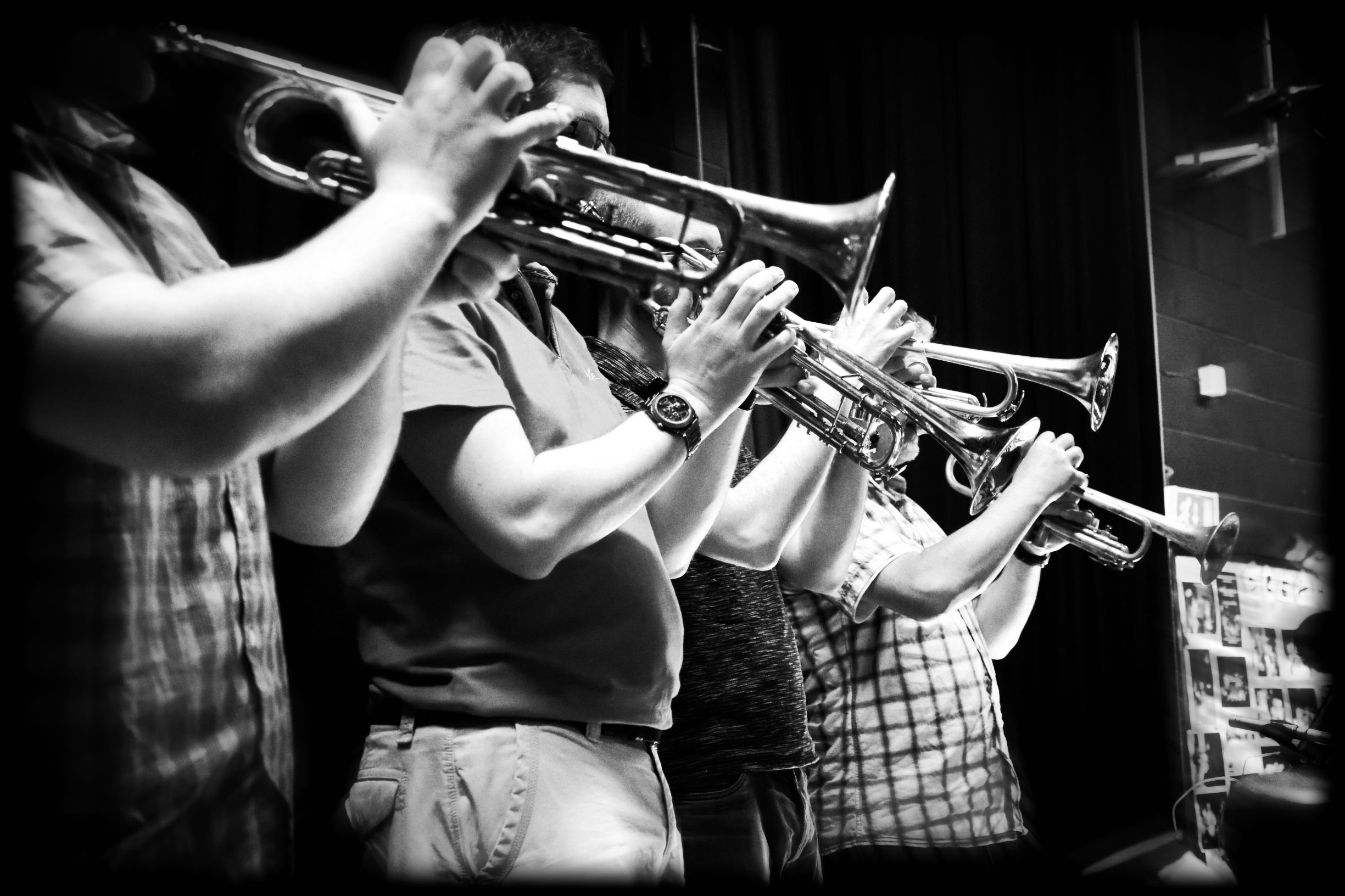 Trumpets - recolored
