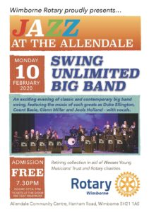 Wimborne Rotary Presents - SUBB at the Allendale